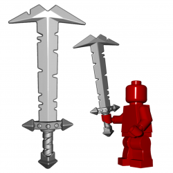 Большой меч Орка, черного цвета