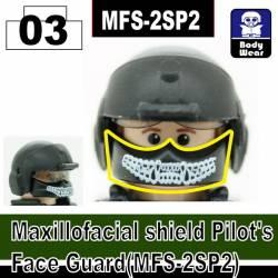 Лицевая маска пилота с кастомным принтом 2