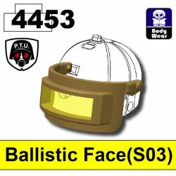Ballistic Face(S03) Dark Tan