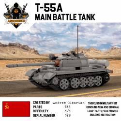 Танк Т-55а - основной танк