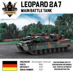 Немецкий танк Леопард 2A7