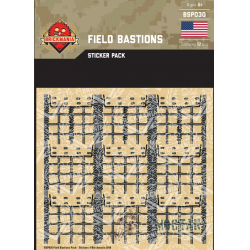 Field Bastions Pack - Stickers