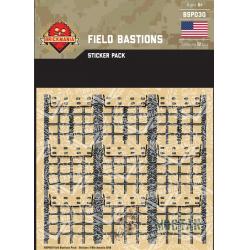 Наклейки для создания укреплений для обороны