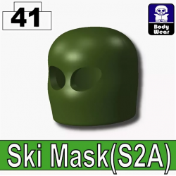Зеленая балаклава модель S2A