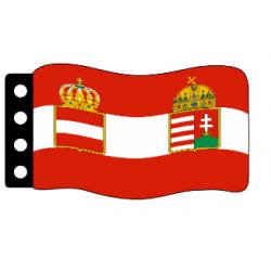 Австро-венгерский флаг Первой Мировой