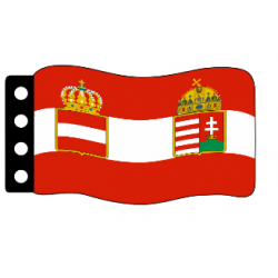 Flag - Austria-Hungary (WWI) War Flag