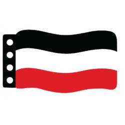 Имперский немецкий флаг (триколор)