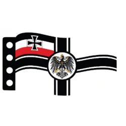 Имперский военный немецкий флаг