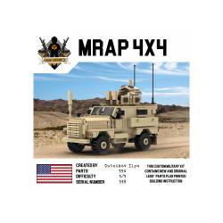 Военный автомобиль MRAP 4x4