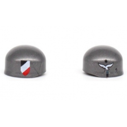 Luftwaffe Helmet Gray (Brickpanda)
