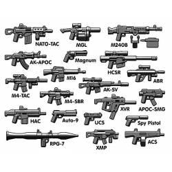 Набор вооружения Brickarms Royal pack