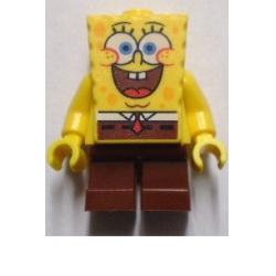 SpongeBob - Large Grin and Black Eyebrows