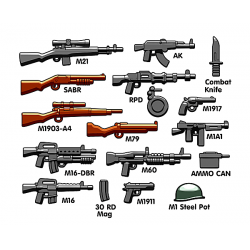Набор оружия Вьетнамской войны