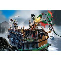 7019 Крепость Викингов против дракона Фафнира