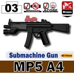 Автомат MP5A4 черный