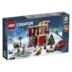 10263 Пожарная станция зимней деревни