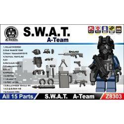 Z8303 наборя S.W.A.T. A-Team + 3 подарка