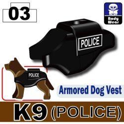 Жилет для собак Полиция K-9