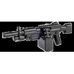 """Автоматическое оружие """"Пила"""" боевого подразделения, черное"""