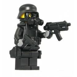 Минифигурка SWAT в противогазе 1.0
