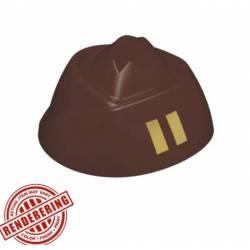 Garrison Cap Dark Brown