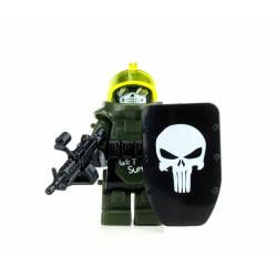 Juggernaut Army Assault Minifigure