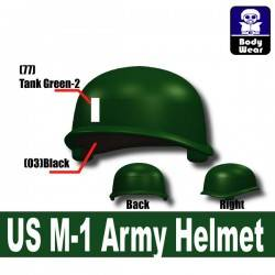 Американский армейский шлем М1 с принтом #12