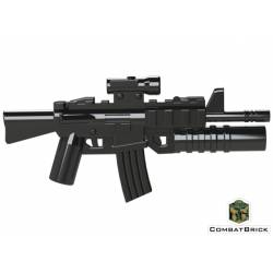 M4A1 Carbine with M203 grenade launcher