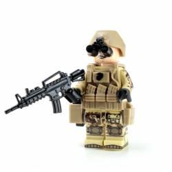 Marine Corps Infantry Desert MARPAT minifigure