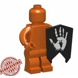 Goblin Shield Hand print