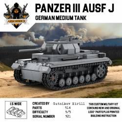 Средний немецкий танк Панцер III