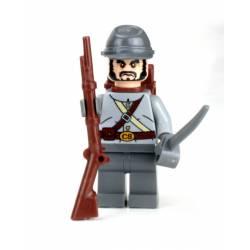 Confederate Soldier Minifigure