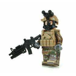 Army OCP Chemical Warfare Minifigure