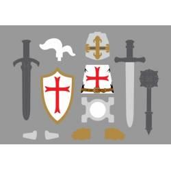Набор Рыцаря Тамплиера