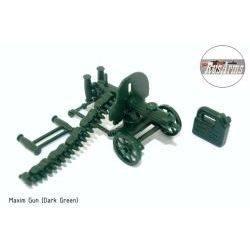 Maxim machine gun OD Green
